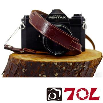 70L SWL1216真皮彩色相機背帶-杏茶金褐(SWL1216杏茶金褐)