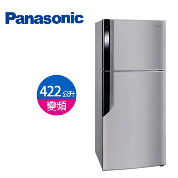 Panasonic 422公升ECONAVI雙門變頻冰箱(NR-B426GV-DH(燦銀灰))