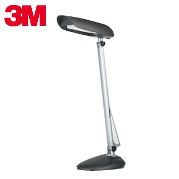 【福利品】3M 桌夾LED檯燈-晶鑽黑(GL6000-BK)