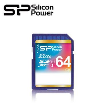 【64G】廣穎SDXC UHS-1 C10記憶卡(SP064GBSDXAU1V10)