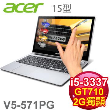 ACER 三代i5觸控2G獨顯筆電(V5-571PG-53334G75(V2)