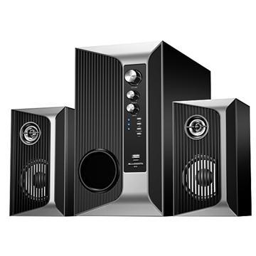 【福利品】JS 藍牙無線多功能三件式喇叭