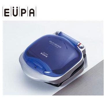 【福利品】EUPA 低脂健康煎烤器(藍)