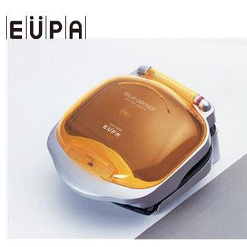 【福利品】EUPA 低脂健康煎烤器(橘)(TSK-263M(橘))