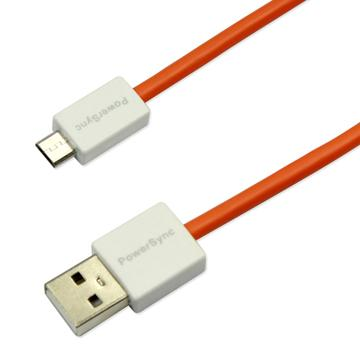 群加USB2.0 AM to Micro B(超軟線橘)1.5M(USB2-ERMIB153)