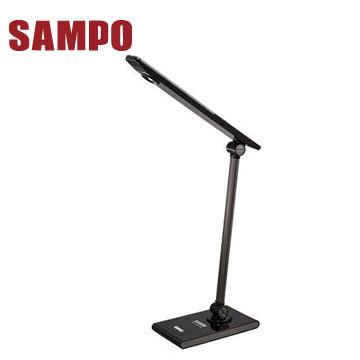 【福利品】SAMPO節能觸碰式護眼LED檯燈