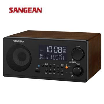 SANGEAN 藍牙/USB收音機  WR-22(黑)(WR-22(黑))