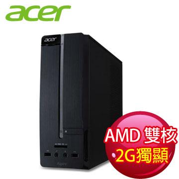 宏碁(acer)  雙核2G獨顯主機(XC100 E1-1200(VGA))
