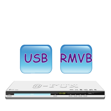 A-FUN RMVB/DVD影音光碟機  AR-6299(AR-6299)