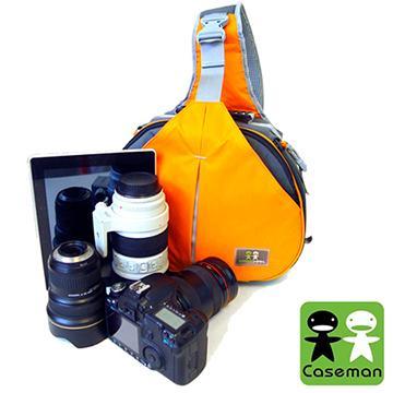 Caseman 卡斯曼 AOS2時尚運動三角包 火焰橙(D11-CAS-AOS2-32)