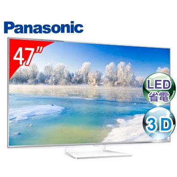Panasonic國際 47吋240Hz 3D WiFi液晶電視(TH-L47WT60W)