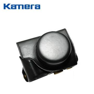 Panasonic GF5 專用皮質相機包-黑(GF5專用相機包)