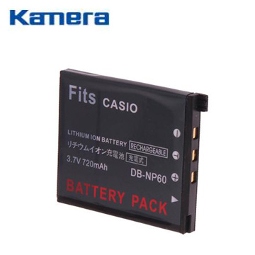 Casio NP-60副廠鋰電池(NP-60)