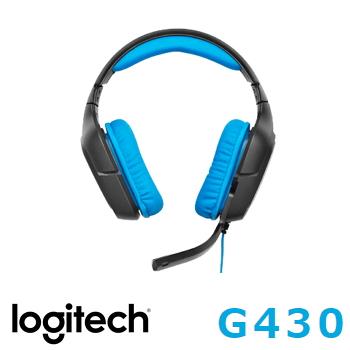 羅技 G430 環繞音效遊戲耳機麥克風(981-000546)