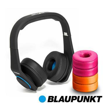 藍點 Style高音質耳罩式耳機-黑(Style-B)