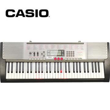 【福利品】 CASIO 61鍵力度感應魔光電子琴 LK-230 RB(LK-230 RB(福利品))