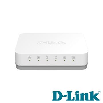 D-Link 5埠Gigabit超高速乙太網路交換器(DGS-1005A)