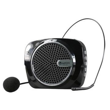 【福利品】KINYO 充電式多功能擴音器