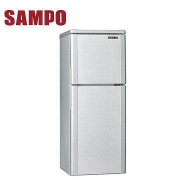 聲寶 140公升1級雙門冰箱(SR-L14Q(S1)典雅銀)