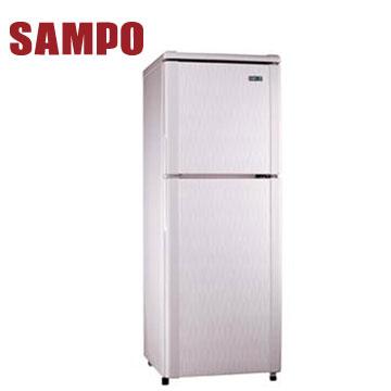 聲寶 140公升1級雙門冰箱(SR-L14Q(R5)粉彩紅)
