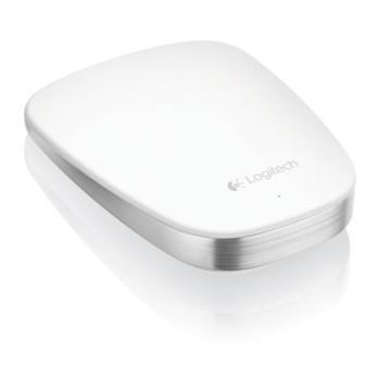 羅技 超薄觸控滑鼠T630-白