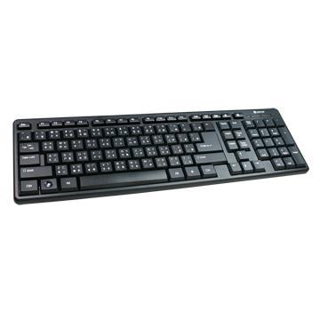 KINYO USB精緻標準鍵盤(KB-17U)