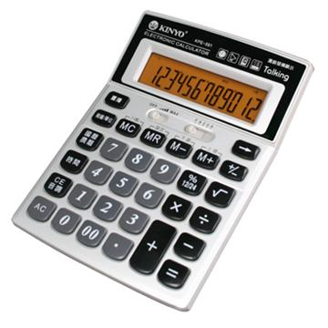 KINYO 多功能語音護眼計算機  KPE-591