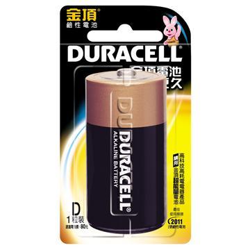 金頂電池1號1入(D1)