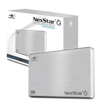 凡達克-2.5吋傳輸精靈6G/USB3.0硬碟外接盒(NST-266S3-SV)