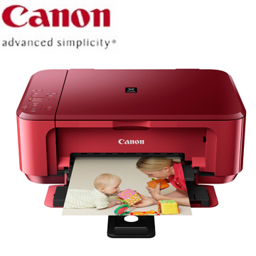 Canon MG3570(紅)相片複合機(MG3570 【睛豔紅】)