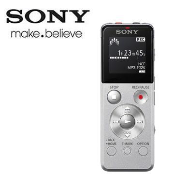 【福利品】SONY 數位錄音筆4G(銀)(ICD-UX543/S)