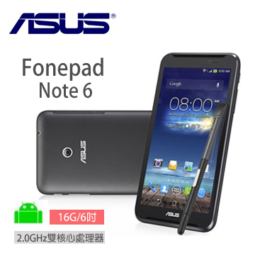 ASUS Fonepad Note 平板手機 16G-3G/黑(ME560CG-1B040A)