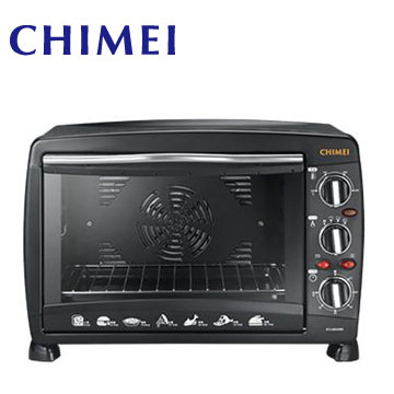 CHIMEI 26L易潔式後旋風電烤箱(EV-26A0BK)