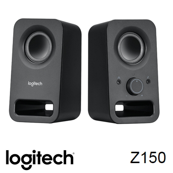 羅技 Logitech Z150 USB 供電音箱喇叭-黑