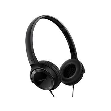 Pioneer SE-MJ502迷你耳罩式耳機-黑(SE-MJ502-K)