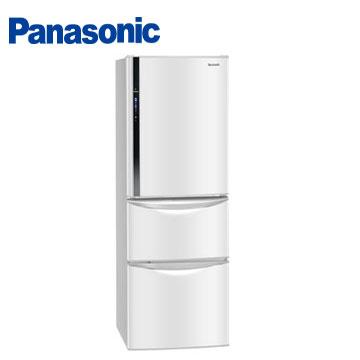 【福利品 】Panasonic 385公升ECO NAVI三門變頻冰箱
