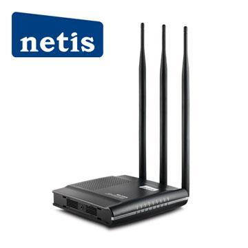 netis 黑極光無線寬頻分享器(WF2409D)