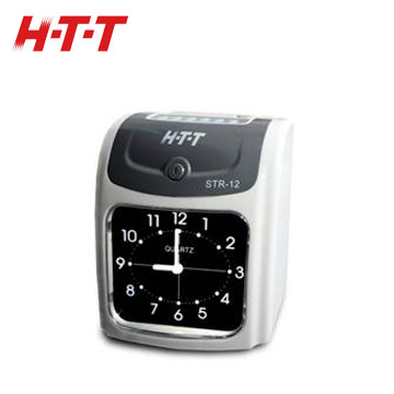 HTT 微電腦打卡鐘(STR-12)