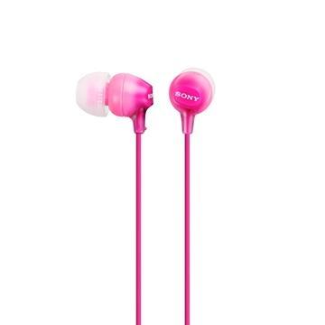 SONY MDR-EX15LP入耳式耳機(粉紅)(MDR-EX15LP/PICE)