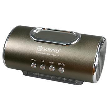 KINYO USB/TF隨身音響 MPS-378