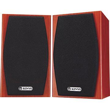 KINYO 全木質立體擴大音箱(KY-1075)