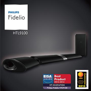 【福利品】PHILIPS創新無線環迴家庭影院Sound Bar  HTL9100(HTL9100)