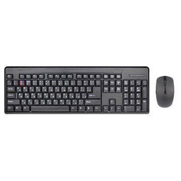 Q PNP 2.4G無線光學滑鼠鍵盤組(QKM-1401-UPK)