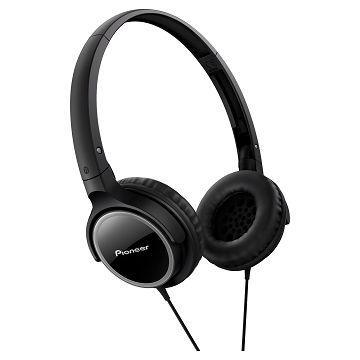 Pioneer SE-MJ512耳罩式耳機-黑(SE-MJ512-K)