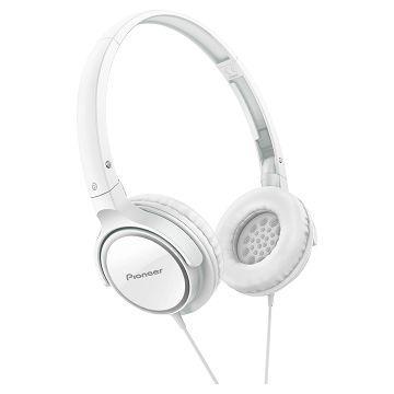 Pioneer SE-MJ512耳罩式耳機-白(SE-MJ512-W)