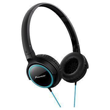 Pioneer SE-MJ512耳罩式耳機-青綠+黑(SE-MJ512-GK)