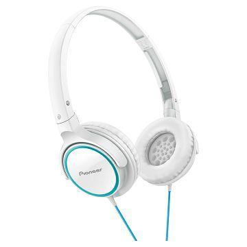 Pioneer SE-MJ512耳罩式耳機-青綠+白(SE-MJ512-GW)
