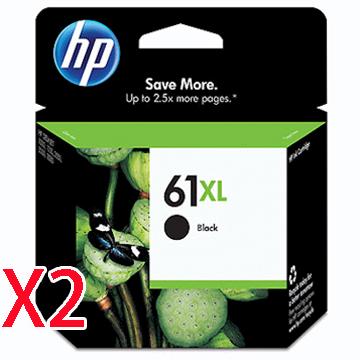 HP 61號XL黑色墨水匣*2顆()