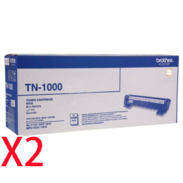 Brother TN-1000黑色碳粉匣*2支()