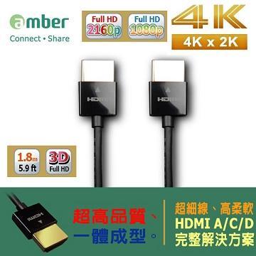 崴寶 HDMI線 1.8米 1.4版 4K2K 極致超細線